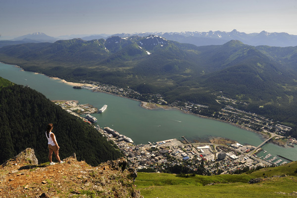 Kelsea on Mt. Juneau
